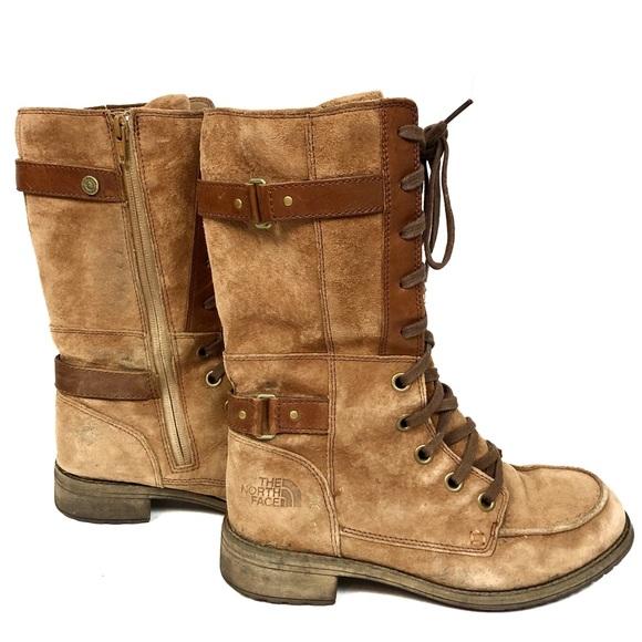 e6413e485 North Face Women's Bridgeton Lace Leather Boots